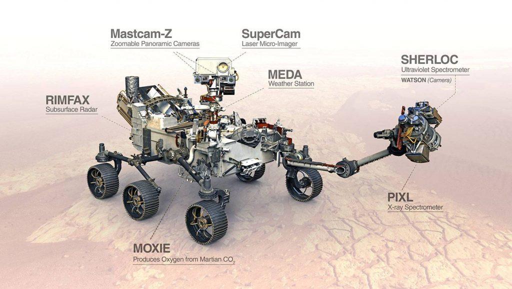 مریخ نورد Mars 2020 Perseverance