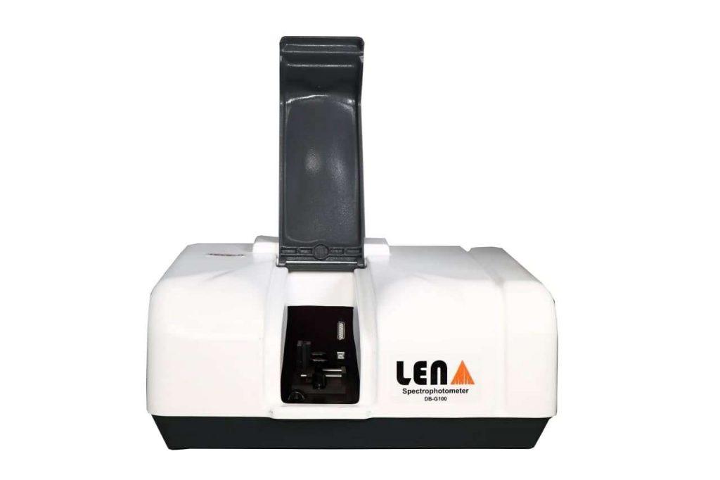 اسپکتروفتومتر دو پرتو اسپکتروفتومتر دستگاهی است که میزان جذب یا انتقال نور از داخل نمونه را به عنوان تابعی از طول موج اندازهگیری میکند.
